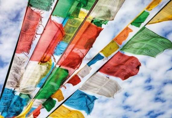 Fototapeta 1-606 Prayer Flags