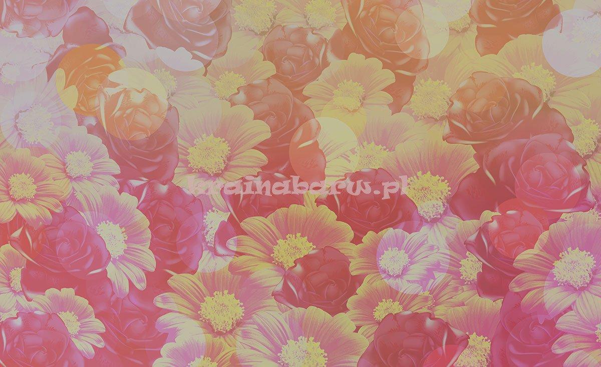 Fototapeta na flizelinie 3123VE Różowe kwiaty  CONSALNET  Sklep Tanie Fotot