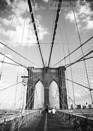 Fototapeta  FS0095 Brooklyn Bridge - New York (Pete Kerwood)